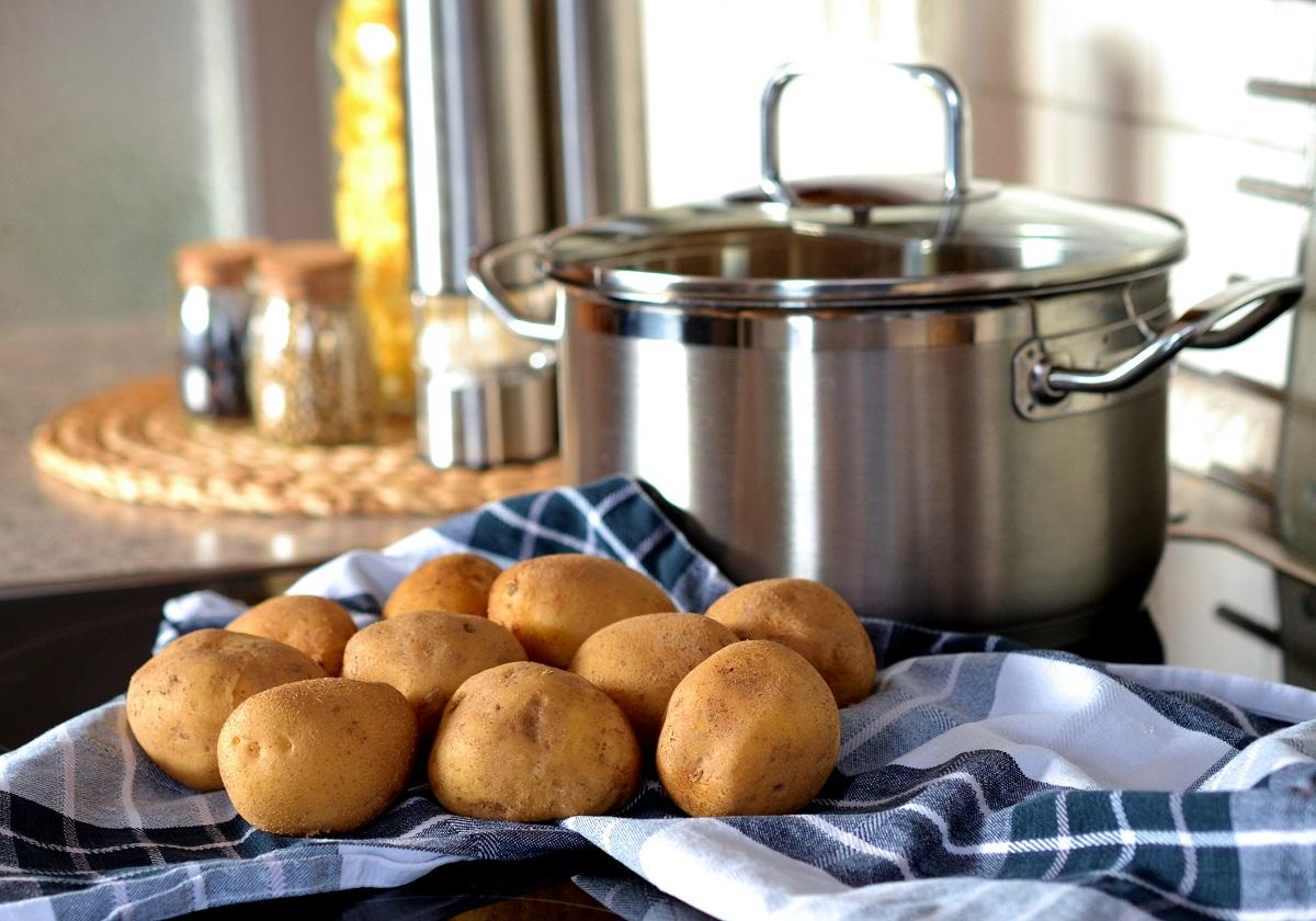 A casserole, pre-casseroling
